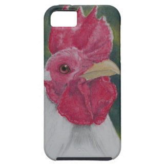 Whit Rooster Case For The iPhone 5