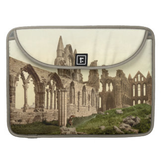 Whitby Abbey I, Whitby, Yorkshire, England Sleeve For MacBook Pro