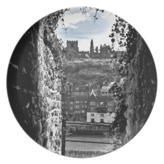 Whitby Abbey Plate
