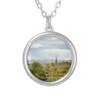 Whitby Church Silver Plated Necklace