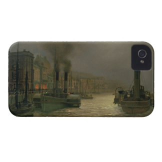 Whitby Harbour - Night, 1899 (oil on canvas) Case-Mate iPhone 4 Case
