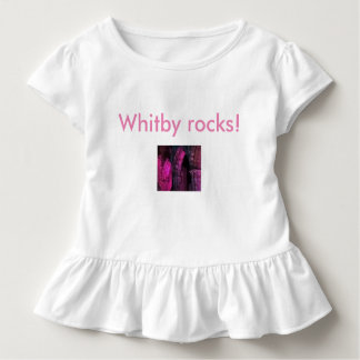 Whitby rocks! Abbey Gothic ruins girls cute top