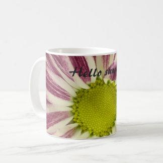 White 11 oz Classic Mug Hello Sunshine!