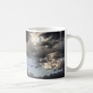 White 11 oz Classic White Mug PHOTOGRAPH OF DARK C