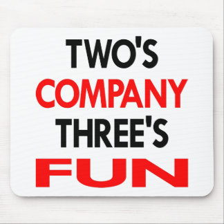 White 2 Company 3 Fun Mouse Mat