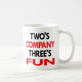 White 2 Company 3 Fun Coffee Mug