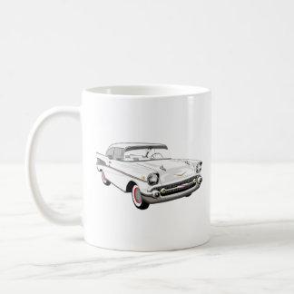 White '57 Shoebox Coffee Mug