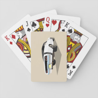 White '68 Charger Playing Cards