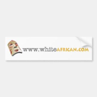 White African Sticker