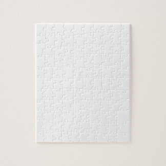 White AIN'T LAURENT LOGO Jigsaw Puzzle
