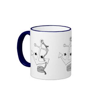 White Anchors (for  ) Mug