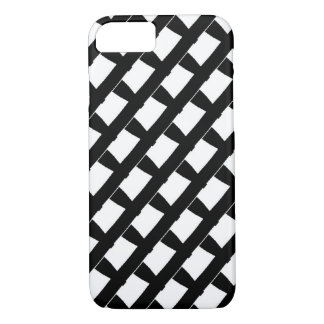 white and black pattern fashion trend iPhone 7 case
