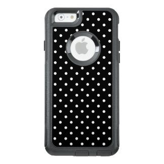 White and Black Polka Dot Pattern OtterBox iPhone 6/6s Case