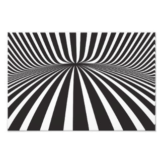 White and black stripes photograph