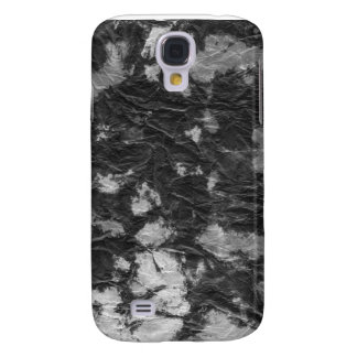 white and black wrinkled paper towel image galaxy s4 cover