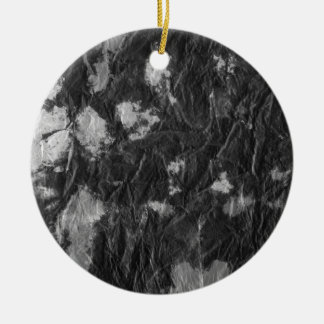 white and black wrinkled paper towel image christmas ornaments