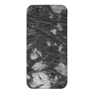 white and black wrinkled paper towel image iPhone 5 cases