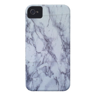 White and Blue Table blackberry bold Case