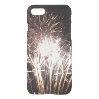 White and Gold Fireworks I Patriotic Celebration iPhone 8/7 Case