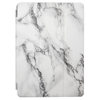 White And Gray Marble Pattern iPad Air Cover