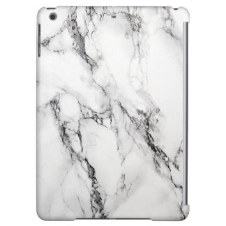 White And Gray Marble Stone With Black Textured