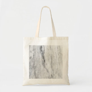 White And Gray Marble Texture Pattern Tote Bag