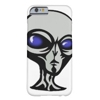 """White and Gray """"The Greys"""" Alien Cell Phone Case"""