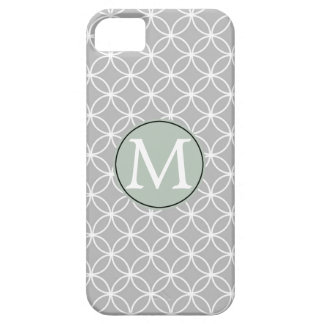 White and Grey Circles iPhone 5 Cases