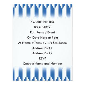 White and Navy Blue Abstract Graphic Pattern. Announcements