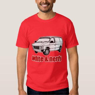white and nerdy shirt