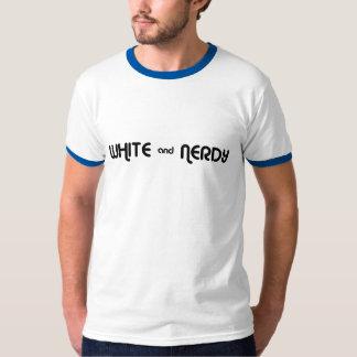 White and Nerdy Tee Shirt