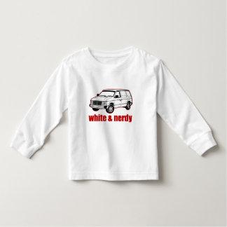 white and nerdy t-shirts