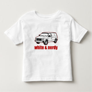 white and nerdy tshirt