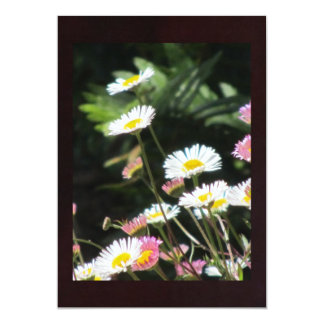 White and Pink Flowers Card