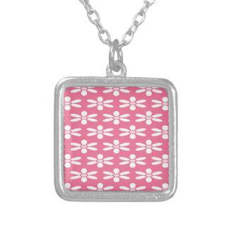 White And Pink Flowers Custom Jewelry
