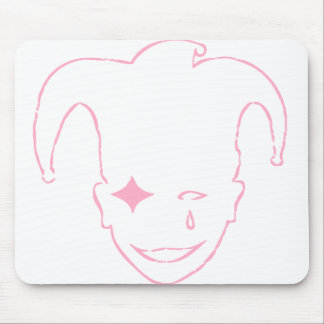 White And Pink MTJ Mouse Pad