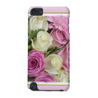 White and Pink Roses iPod Touch (5th Generation) Cases