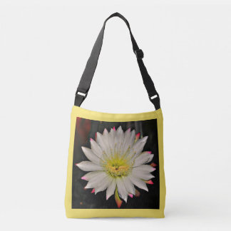 White and Yellow Cactus Bloom  Women's Tote