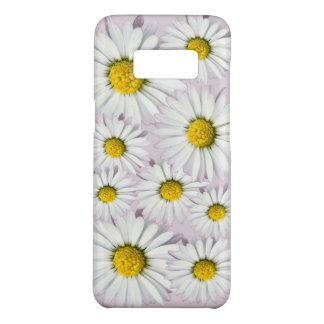 White and Yellow Daisies Floral Print Case-Mate Samsung Galaxy S8 Case