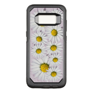 White and Yellow Daisies Floral Print OtterBox Commuter Samsung Galaxy S8 Case