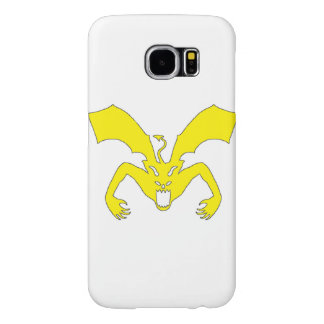 White And Yellow Devil Samsung Galaxy S6 Cases