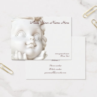 White Angel Business Card