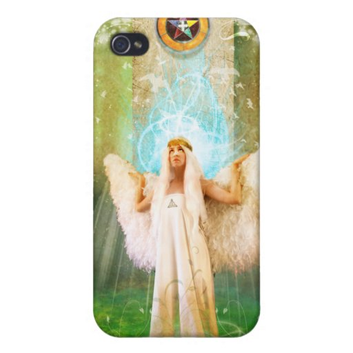 White Angel iPhone 4 Cover