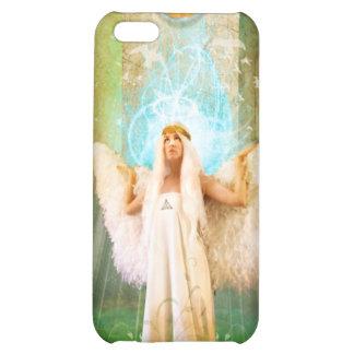 White Angel iPhone 5C Cases