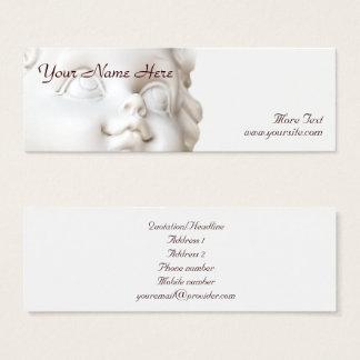 White Angel Mini Business Card