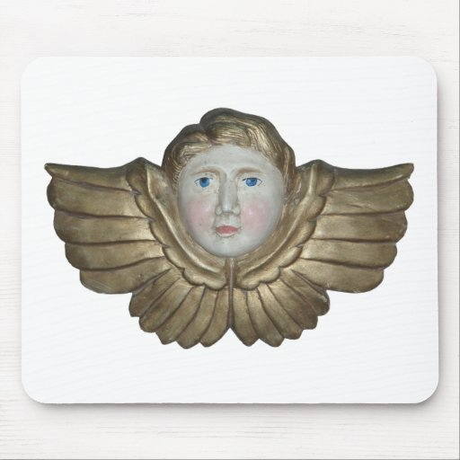 White Angel mouse pad
