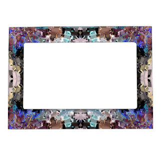 White Animal Magnetic Frame
