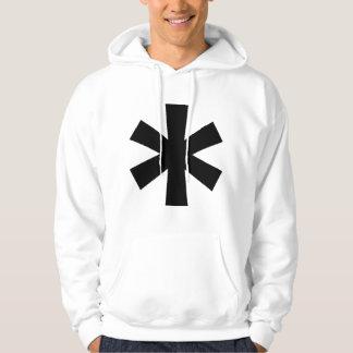 White Asterisk Sweatshirt