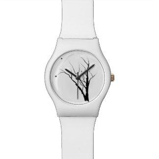White Autumn Tree Watch