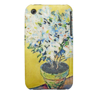 White Azaleas in a Pot Claude Monet Case-Mate iPhone 3 Cases
